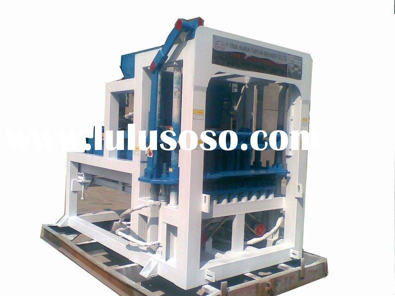 Hot selling flyash brick making machine QTY4-15C (Tianyuan Brand)