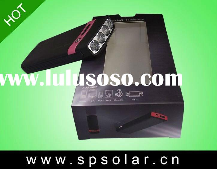 Innovative Solar Battery Charger with Power Indicator&USB Socket