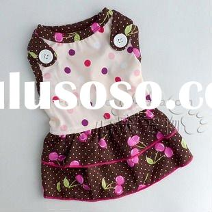 L041 Fashion hot sale high quality dogs skirt;pet apparel 2011