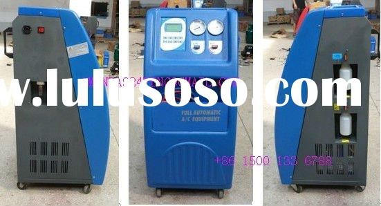 LG 650 manual car A/C refrigerant recovery recycling machine
