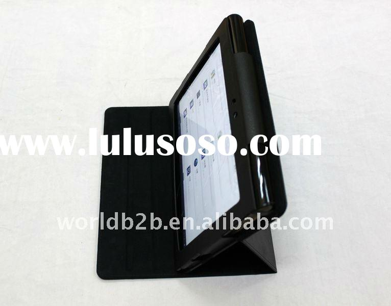 Leather Cover Case for Sony Tablet S,with Multi-Angle Adjustable stand