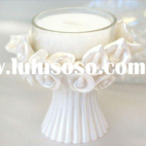 Lily Wedding Candle Holder Favor