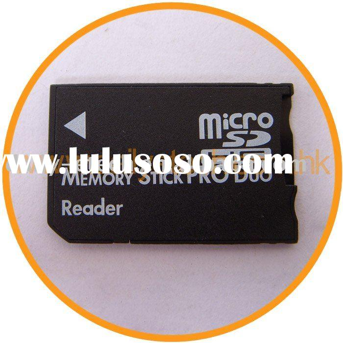 Micro SD TF to MS Memory Stick Pro Duo Card Adapter