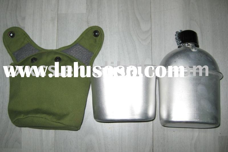Military Canteen, Water Bottle, Aluminum Canteen