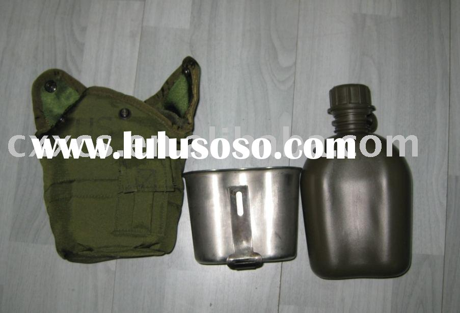 Military Canteen, Water Bottle, Canteen Messtin