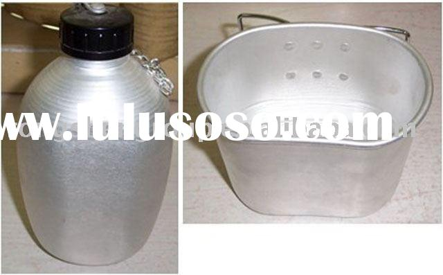 Military Canteen, aluminium canteen, oval canteen , military bottle