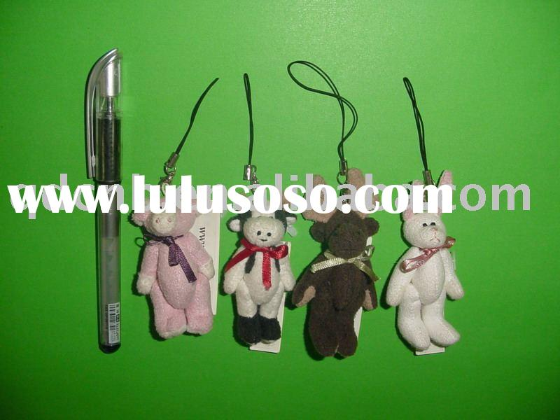 Mini Animals Mini Plush Animal Toys Miniature Stuffed Jointed Animal Toy