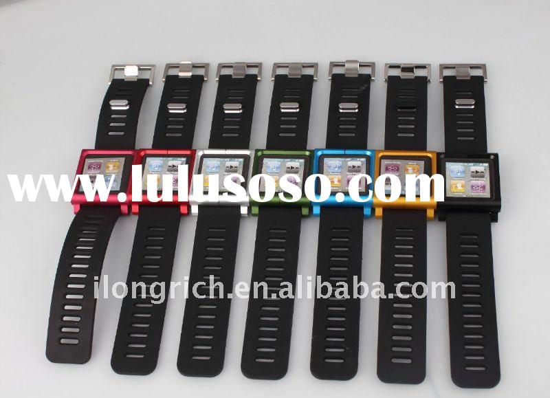 Multi fancy expandable protective touch watch arm band for ipod nano 6th