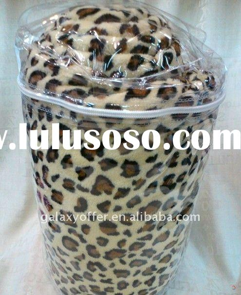 New Hot Branded home panther leopard blanket wedding bedsheet beding sets king queen size polyester