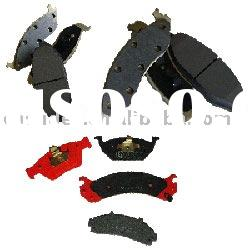 Non-asbestos semi-metallic brake pad