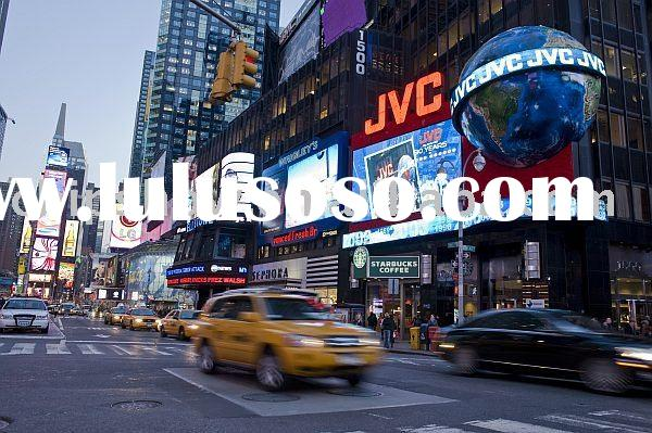 P16 Full Color Outdoor Advertising LED Video Display Screen