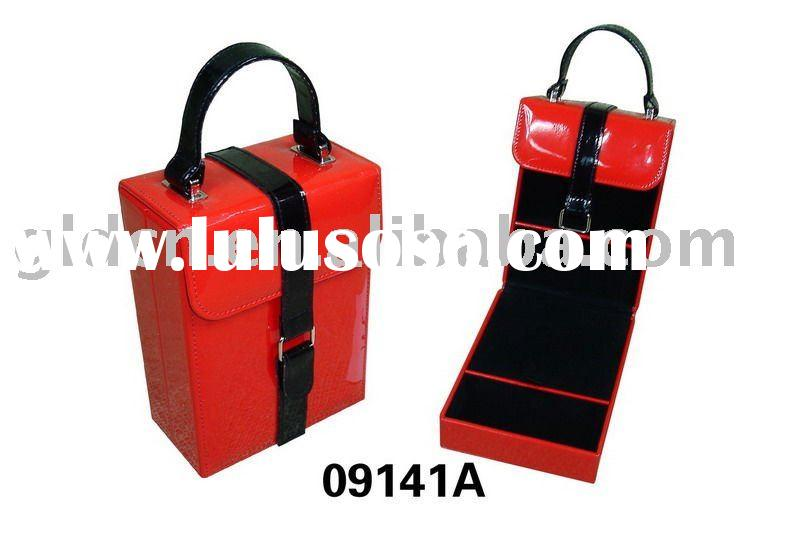 PVC leather portable cosmetic bag