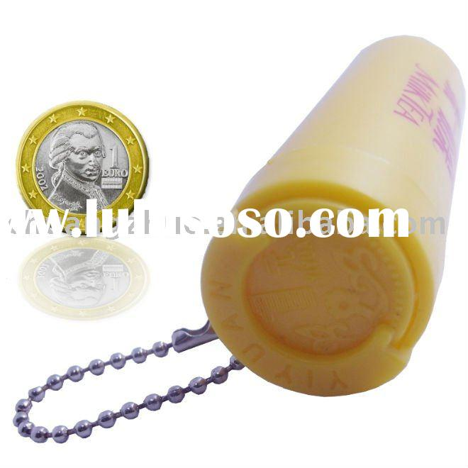 Plastic Euro Coin Holder