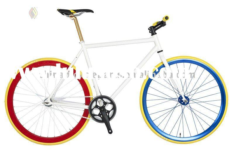 Popular Colorful Chrome Fixed Gear Bikes/bike parts 3H-FIX-C4