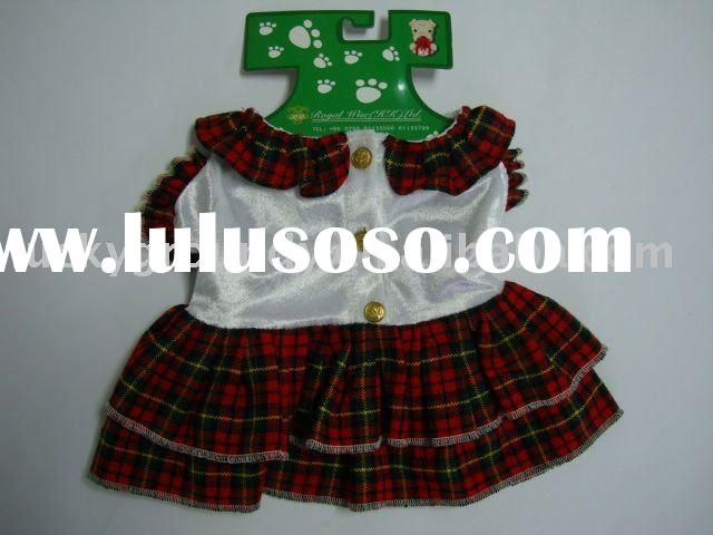 Puppy fashion items,lovely dog dress,dog accessories