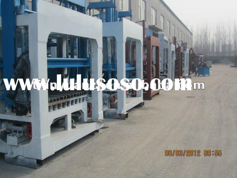 QT12-15 Automatic Concrete Cement Block Making Machinery (Tianyuan Brand)