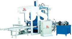 QT4-26 Fully Automatic Concrete Brick Forming Machine,concrete brick machine,block making machinery