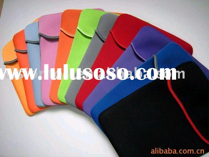 Reversible Neoprene sleeve case. Pouch cover case for Apple iPad 2
