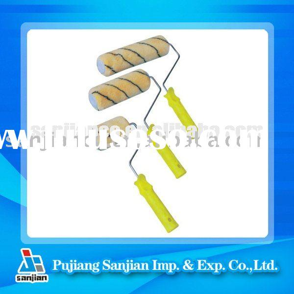 SJIE2011003 Cage system Acrylic Fabric paint roller brush