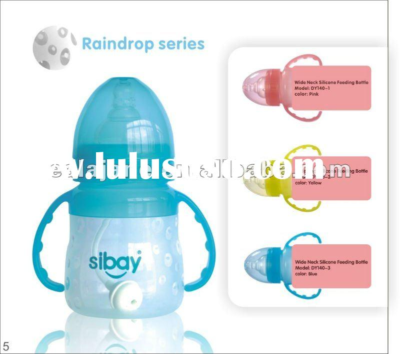 Top-selling Silicone Feeding Bottle for baby
