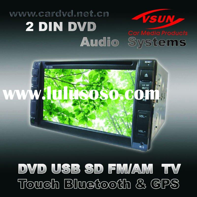 VS-6200 WITH DVD AV TV USB SD MP4 RADIO TOUCH BLUETOOTH IPOD GPS car dvd