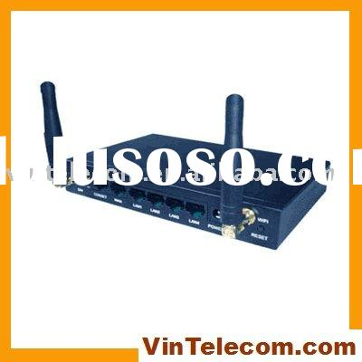 WIFI Wireless Router-3G/HSPA-4LANs / 3G / HSPA Router for industrial use