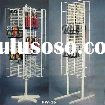 Wing Panel Display Wire Rack