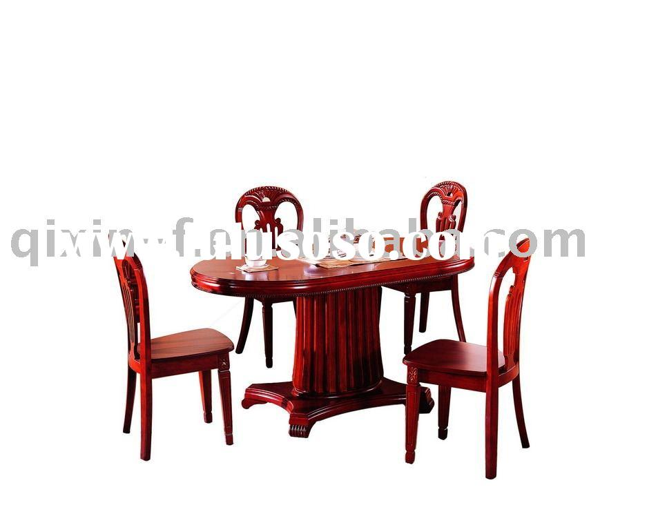 Wooden dining room furniture : table 219 & chair A25