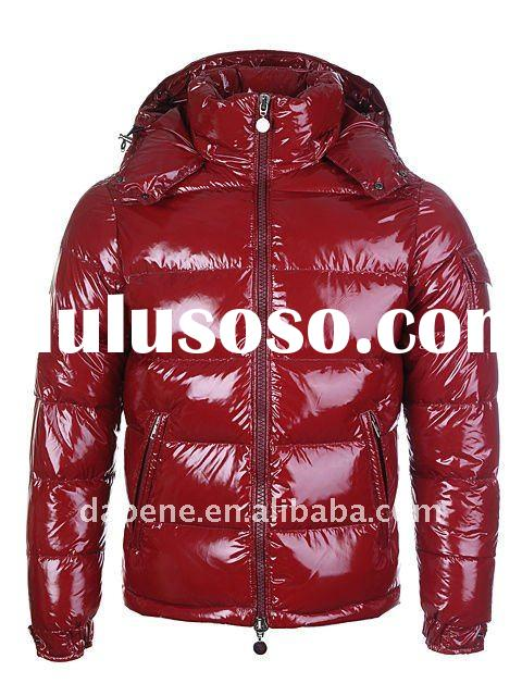 (Drop Shipping) Red Down Jacket For men New And Hot Style!!!