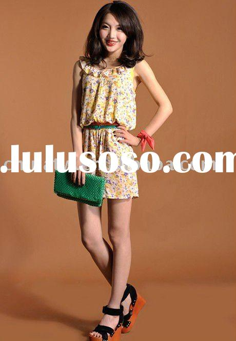 [zb03037] free shipping new spring summer wear breathable cotton100% vintage dress,lady jumpsuit,lad