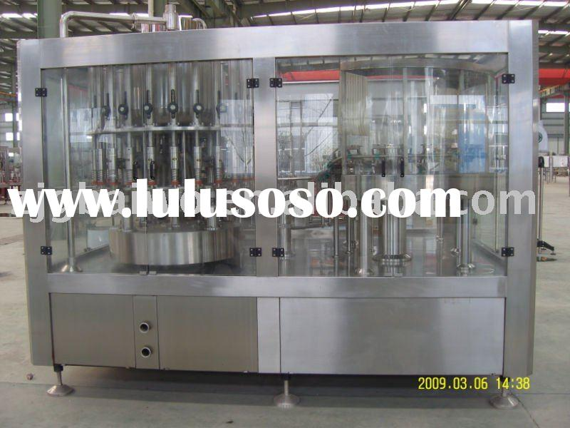 automatic PET bottle juice tea/carbonated drink pure water filling plant water bottling plant