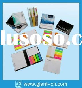 combined memo pad,sticky note,promotional giftware