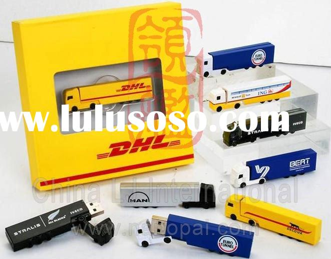 customize container truck flash drive, container truck flash memory