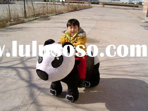 electric panda toy car for children ride