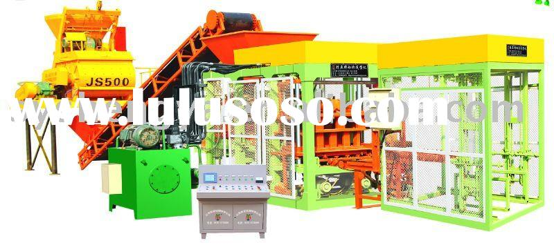fully automatic brick making machine QT4-15A