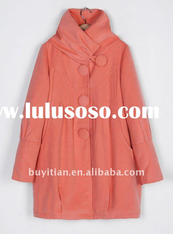 high quality winter coat pink