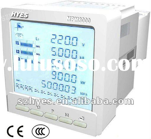 industrial use high accuracy multifunction power meter MPM8000