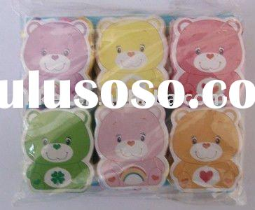 lovely bear cotton Compressed towel