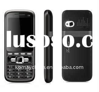 lowest cost 4 sim cards cellphone with free TV C8