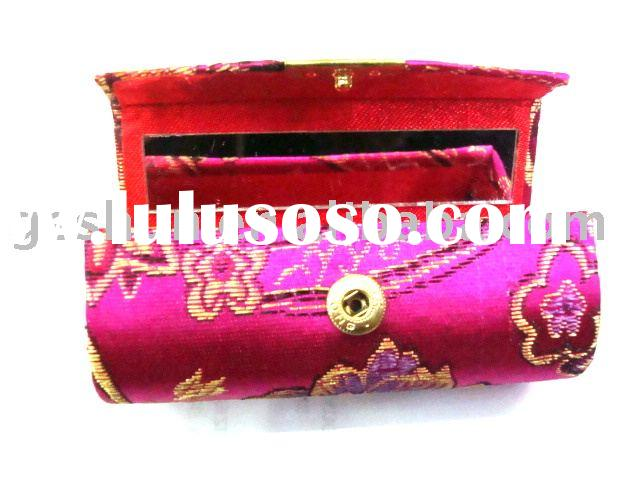 mirror case;cosmetic case;cosmetic bag;make up case;cosmetic box