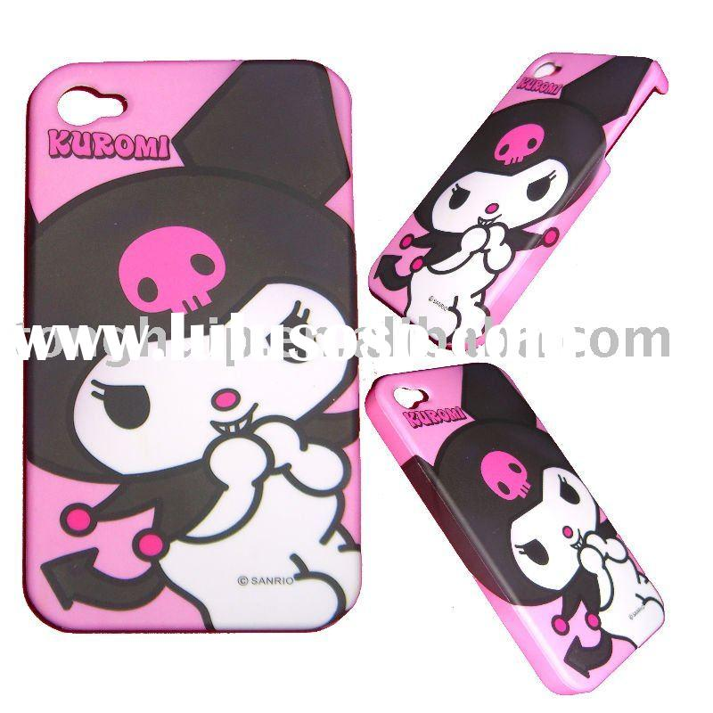 mobile phone cover for iphone 4g with Cartoon design