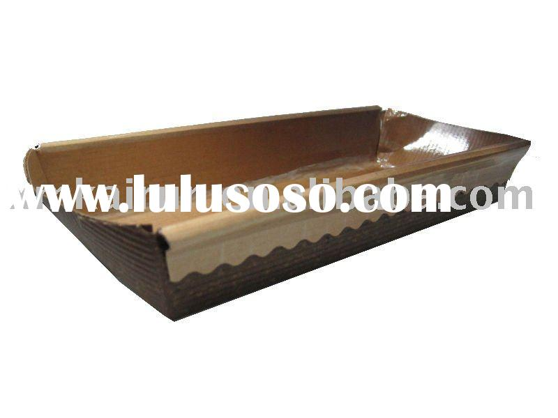 oven paper bread tray,anti-heat paper baking plate, oven paper food container