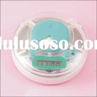 pill box with alarm timer