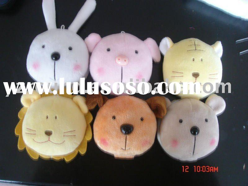 plush animal head toy