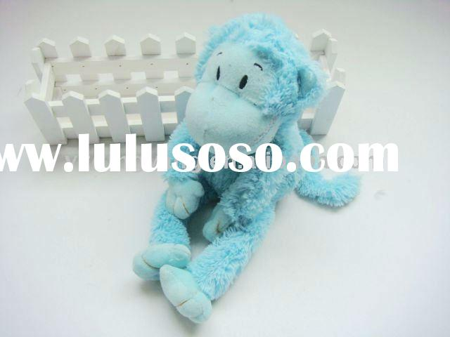 plush toy blue monkey/soft baby toy