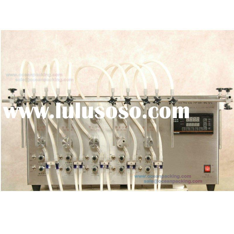 semi automatic water filling machine with 10 heads