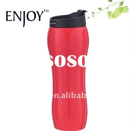 stainless steel coffee tumbler with leak proof lid