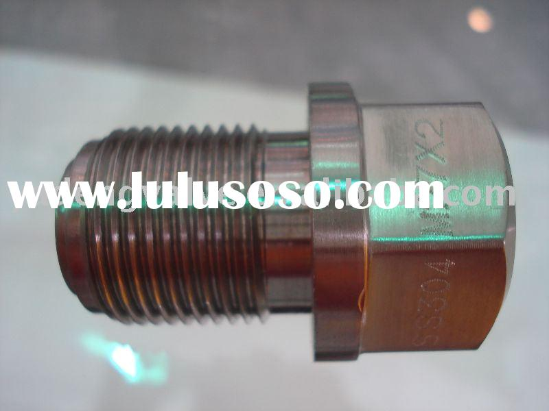 stainless steel high pressure straight male connector