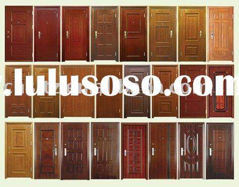wood effect metal door automatic surface finish line