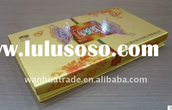 2011 High Quality Wholesale Trinket Paper Box With Tea Bags Paper Packaging